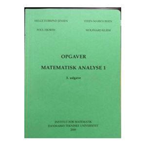 Matematisk Analyse 1 Opgaver book cover